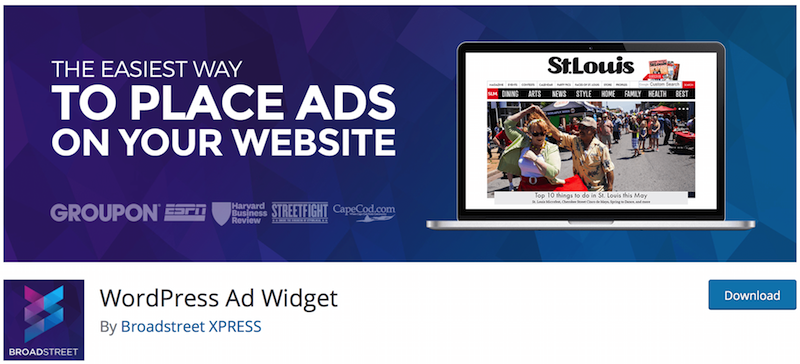 Brodstreet express WP adsense plugin